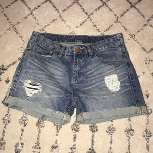 Blank NYC Distressed Short